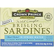 Crown Prince, Brisling Sardines in Water, 3.75 oz