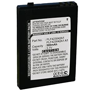 Replacement PLF 423042 A1 PLF423042A1 Battery for Sirius S50, S50-H1, S50-SB1, S50-TK1, S50EX1-RET, BS50PK1-S50H1 & S50-TK1-H1 Portable Satellite Radio Receivers
