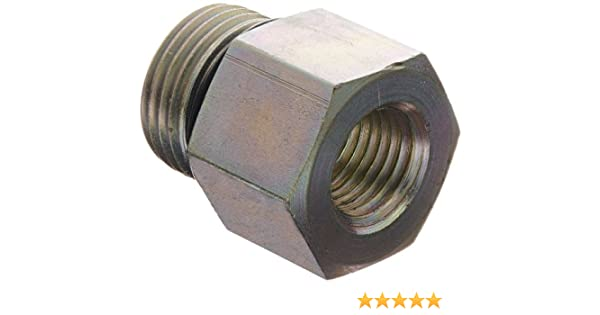 6405-04-04 Hydraulic Fitting 1//4 Male BOSS X 1//4 Female Pipe Carbon Steel