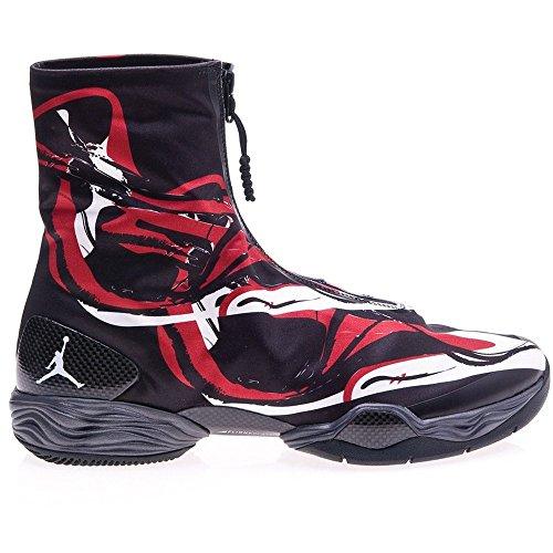 Nike - Air Jordan XX8 - Farbe: Rot-Schwarz-Weiß - Größe: 45.0
