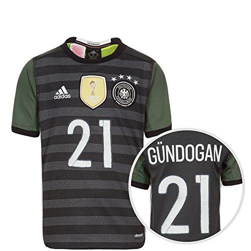 adidas DFB Trikot Away Gündogan EM 2016 Kinder 140 - S