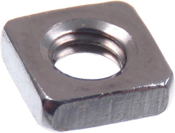 Lot de 10//écrous carr/é M5//à M16/DIN 557/A2/en acier inoxydable