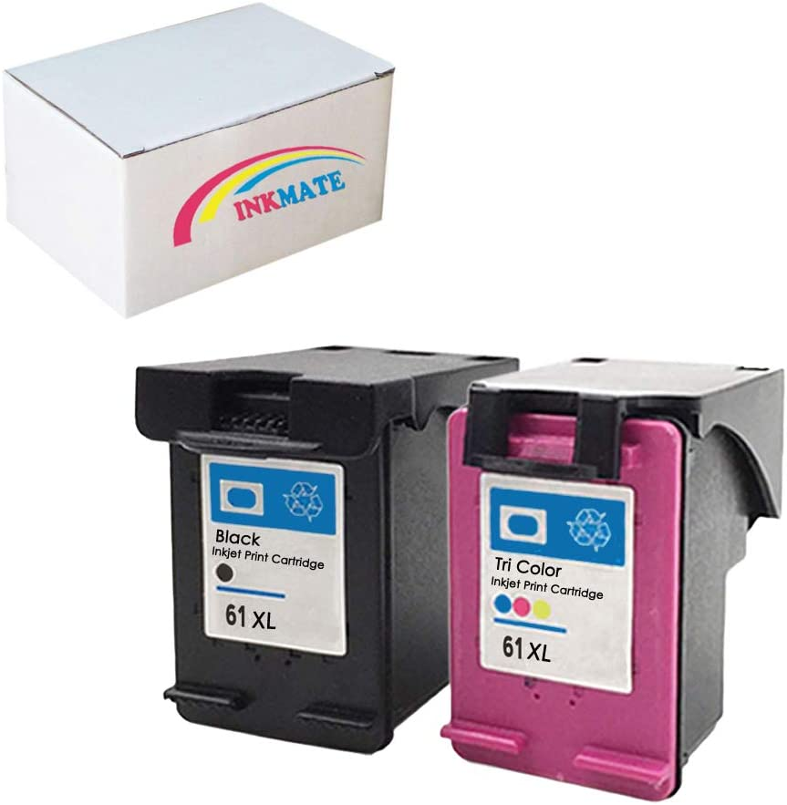 Generic Remanufactured Ink Cartridge Replacement for HP CH563WN ( Black,Tri Color , 2-Pack )