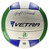 VETRA Volleyball Soft Touch Volley Ball Official Size 5 Outdoor Indoor Beach Gym Game Ball
