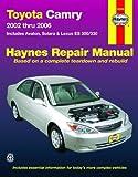 Toyota Camry 2002-2006 Repair Manual, Max Haynes, 1563927624