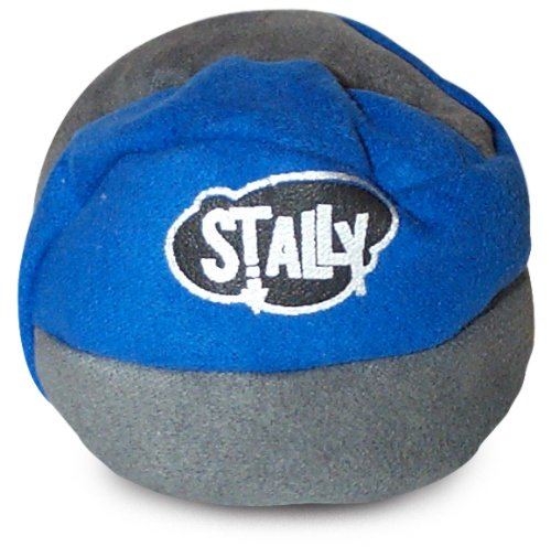 World Footbag Stally Hacky Sack Footbag, Grey/Blue