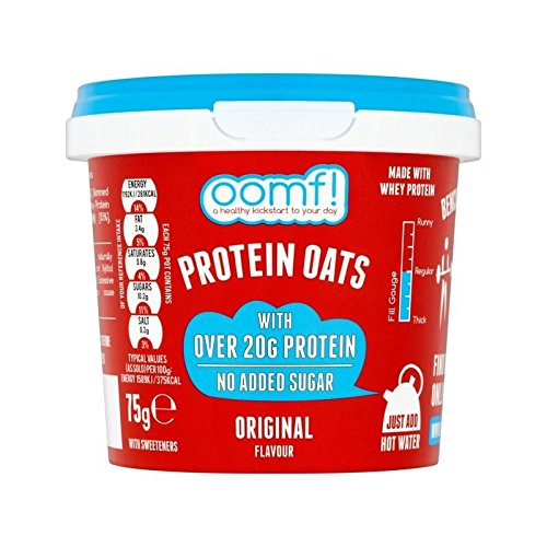 OOMF! Bench Pressed Oats, Original 75g - Pack of 6