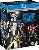 Star Wars: The Clone Wars - The Complete Seasons 1-2-3-4 [Blu-ray] (Region Free)