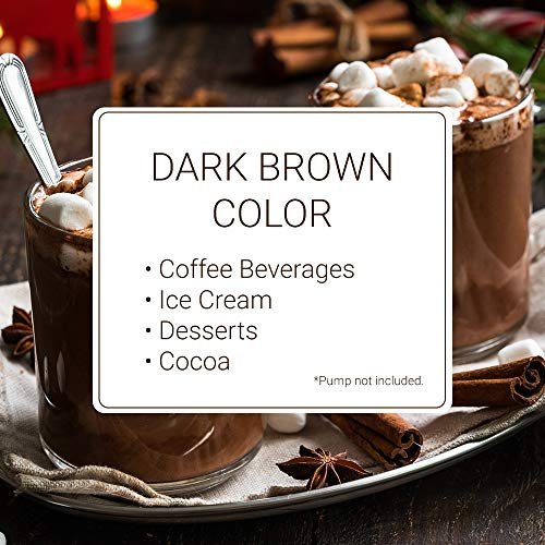 Monin - Gourmet Dark Chocolate Sauce, Velvety and Rich, Great for Desserts, Coffee, and Snacks, Gluten-Free, Vegan, Non-GMO (64 Ounce) by Monin (Image #3)