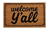 Mud Pie Welcome Y'all Doormat