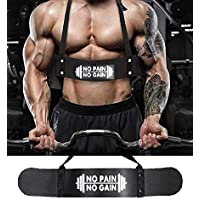 Tima Arm Blaster Beast Biceps Contentrator Padded Heavy Metal to Get Big Biceps and Triceps Workout-Ensures Faster