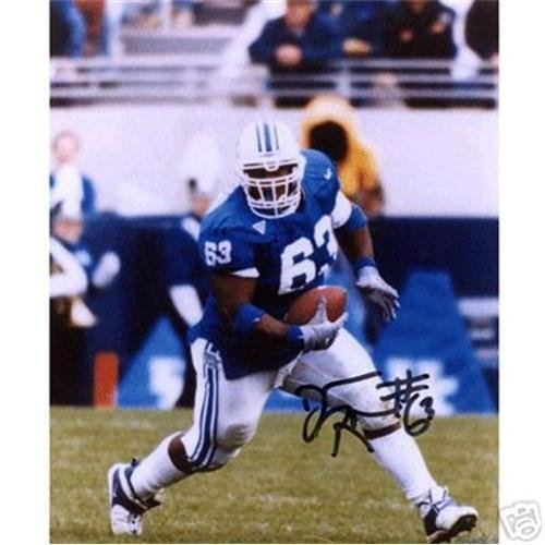Dewayne Robertson Autographed Kentucky Wildcats 8x10 Photo -