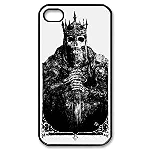 Skull Design iPhone 4/4s Case Black Yearinspace105247