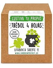 Garden Pocket - Kit Cultivo TRÉBOL DE Cuatro Hojas