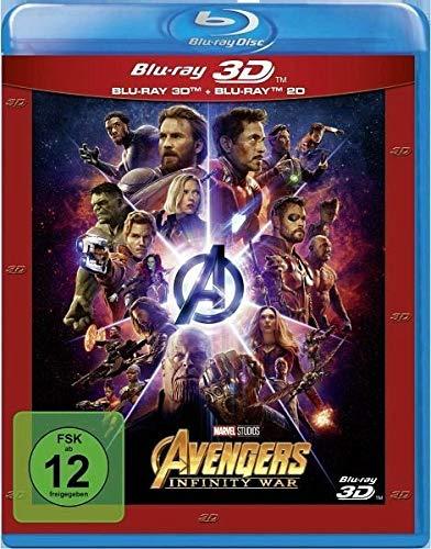 Avengers: Infinity War: Blu-ray 3D + 2D: Amazon.es: Markus ...