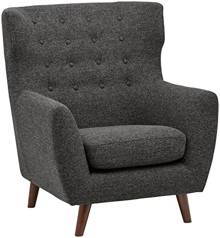 Amazon Brand Rivet Hawthorne Mid-Century Tufted Modern Accent Chair