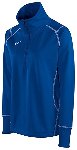 d1fcfdbd98e1 Amazon.com  Nike Women s Quarter Zip Therma-FIT Performance ...