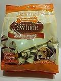 Nylabone Rawhide Meaty Dog Bone Treats - Bacon Flavored