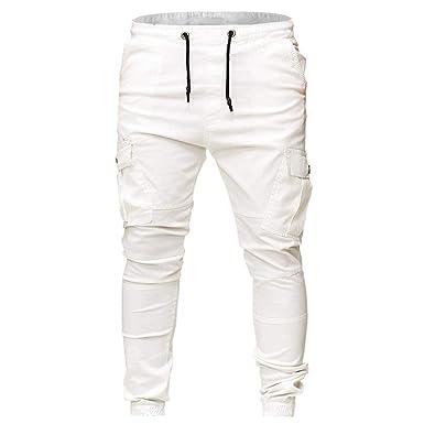 New York super qualità professionale CAOQAO Pantaloni da Uomo Pantaloncini Jeans/Moda Uomo Tasche ...