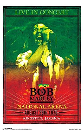 Bob Marley Concert Poster - 11x17