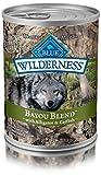 100 Pounds Dog Food - Blue Wilderness Grain Free Bayou Blend With Alligator & Catfish Wet Dog Food 12.5-Oz (Pack Of 12)