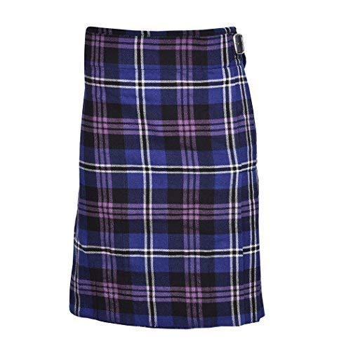 (Heritage Of Scotland Men's 5 Yard Scottish Kilts Tartan Kilt 13oz Highland Casual Kilt (38