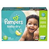 Pampers Baby Dry Disposable Baby Diapers