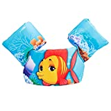 HomDSim Kids Puddle Jumpe Cartoon Life Jackets Vests Toddler Baby Swim Float Flotation Device 30-50 lbs (Red Fish)