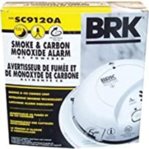 New Ac/Dc Smoke And Co2 Alarm First Alert Ea. Fire/Smoke Alarms Sc9120A BRK