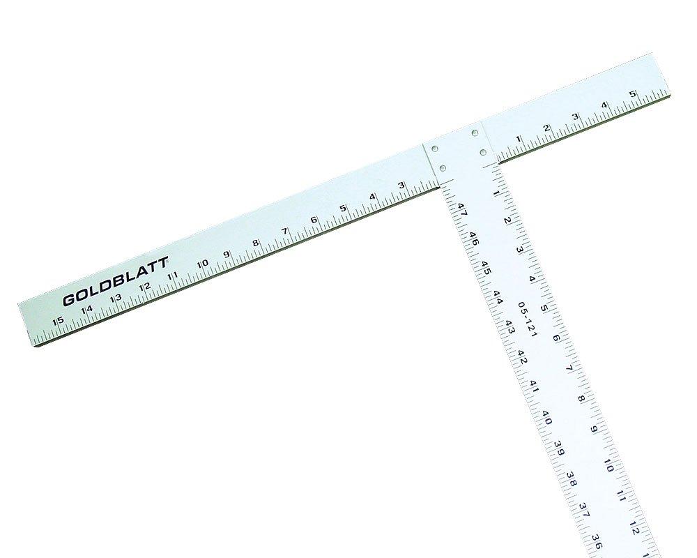 Goldblatt G05121 48-Inch Standard T-Square