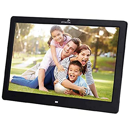 eKlasse EKDPF1301 Multi Media Digital Photo Frame 13in (Black)