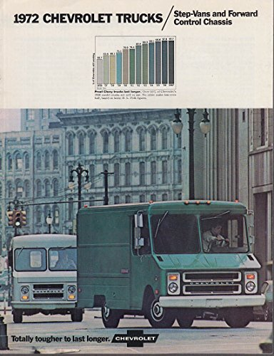 1973 Chevrolet Step-Vans & Forward Control Chassis Truck brochure Chevrolet Forward Control Chassis