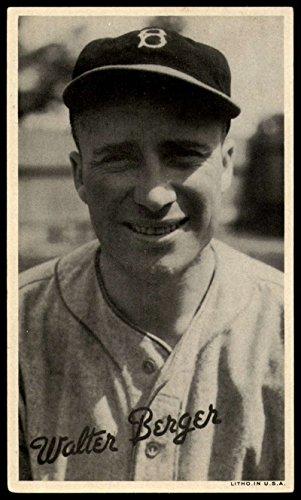 Baseball MLB 1936 R314 Wide Pens #5 Walter Berger VG/EX Very Good/Excellent ()