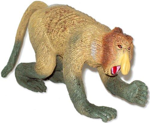 (AAA Proboscis Monkey - Realistic Toy Wildlife Animal)
