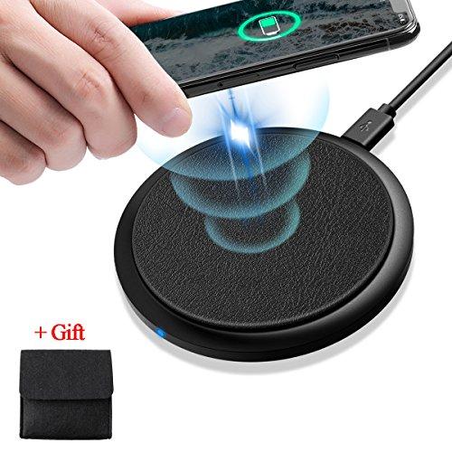Fast Wireless Charger, SAWAKE Ultra Thin Anti-S...