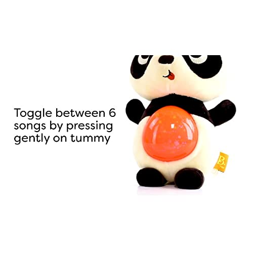 Glowing Tummy /& 6 Lullabies Musical Stuffed Animal Toy Toys 6 Months + B Lights /& Sounds for Babies /& Toddlers Twinkle Tummies Soothing Plush Cat