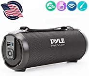 Wireless Portable Bluetooth Boombox Speaker - 100 Watt Rechargeable Boom Box Speaker Portable Music Barrel Loud Stereo Syste