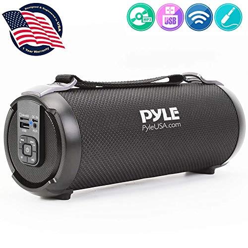 Wireless Portable Bluetooth Boombox Speaker – 100 Watt Rechargeable Boom Box Speaker Portable Music Barrel Loud Stereo…