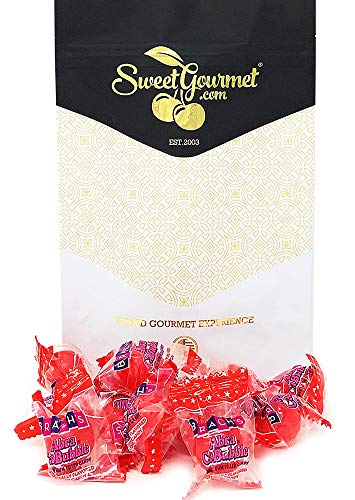 SweetGourmet Abracabubble Cherry Hard Candy With Gum Center | Brach's Bulk Wrapped Candy | (1Lb)