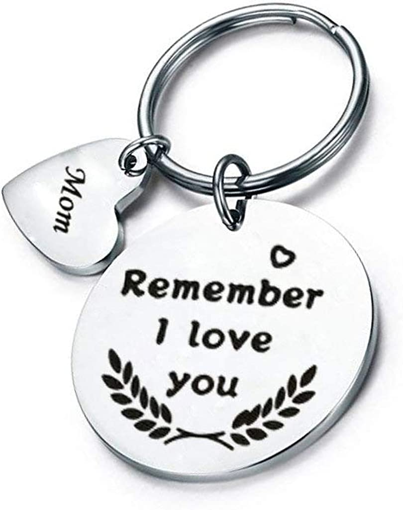 Personalised Photo Keyring White Belongs to Birthday Present Mother/'s Day Gift