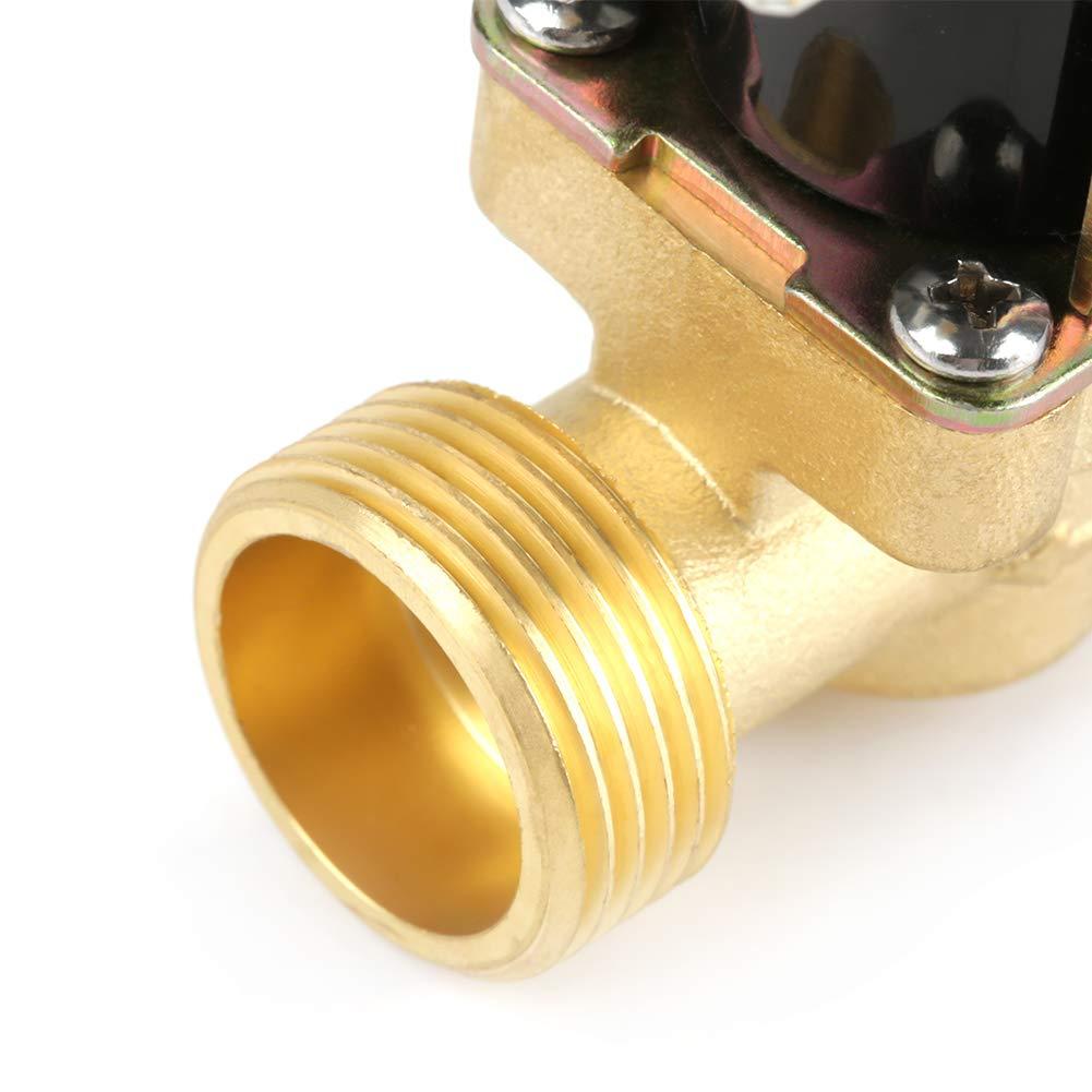 /Électrovanne machines de purification deau 4 Laiton N//C /Électrovanne /électrique 2 voies normalement ferm/ée Aucune vanne de r/égulation de pression pour chauffe-eau 12V G3
