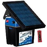 Premier Solar IntelliShock 60 Fence Energizer Kit - Includes 5-Light Wireless Fence Tester