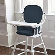 Carousel Designs Solid Navy High Chair Pad