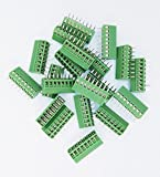 20pcs/lot E-Simpo 2.54mm PCB Screw Terminal Block, 2.54mm 150V6A CE Rohs UL (2.54MM 8P)