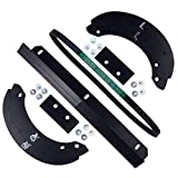 Honda HS520/720 Snowblower Paddle (06720-V10-030), Scraper (76322-V10-020), V-Belt (22431-V10-013) Kit