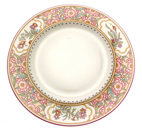 Minton Dinner plate S768 Asian Flowers New - Seconds - Minton Round Plates