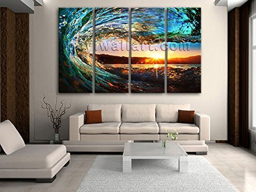 amazon extra large pieces canvas prints gallery wrapped art