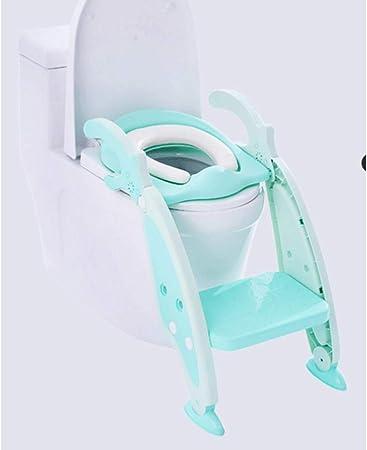 MinMin Escalera for el Entrenador de peldaños del baño for niños y bebés, Silla for el