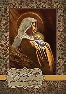 Amazon.com : Celtic Deluxe Religious Christmas Cards Irish Xmas ...