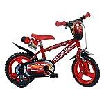 Dino-Bikes-Bicicletta-per-Bambini-Cars-3-Rossa-30-cm-Equilibrio-Bici-per-Bimbi